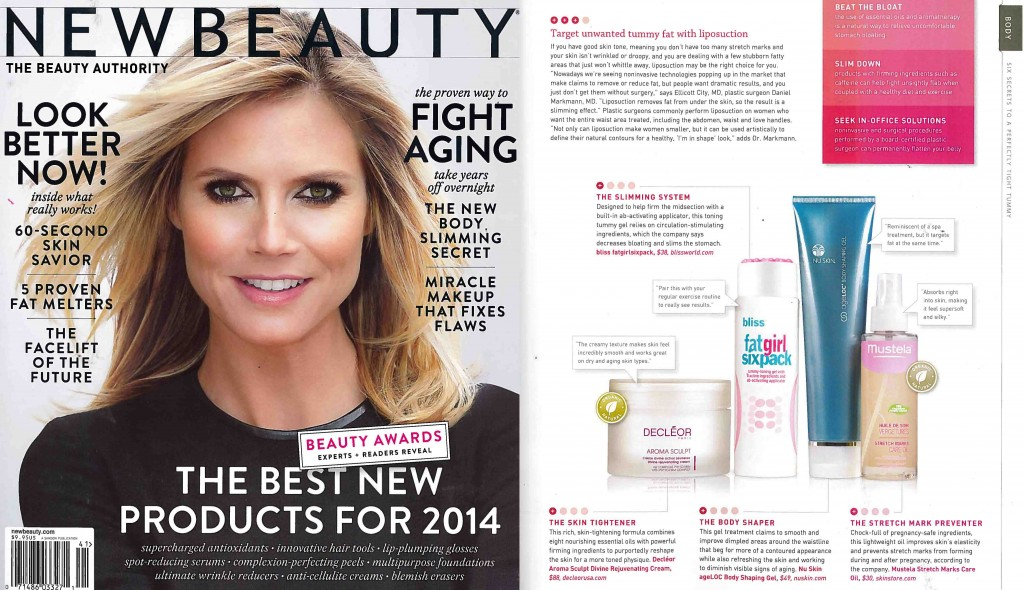 Bliss fatgirlsixpack -New Beauty - Winter-Spring 2014