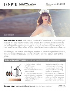 view the temptu bridal workshop flyer