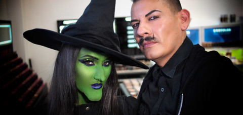 Green Witch Halloween Makeup Video & Product List