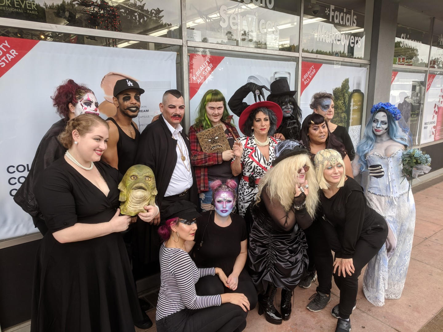 Celebrating Halloween at Nigel Beauty