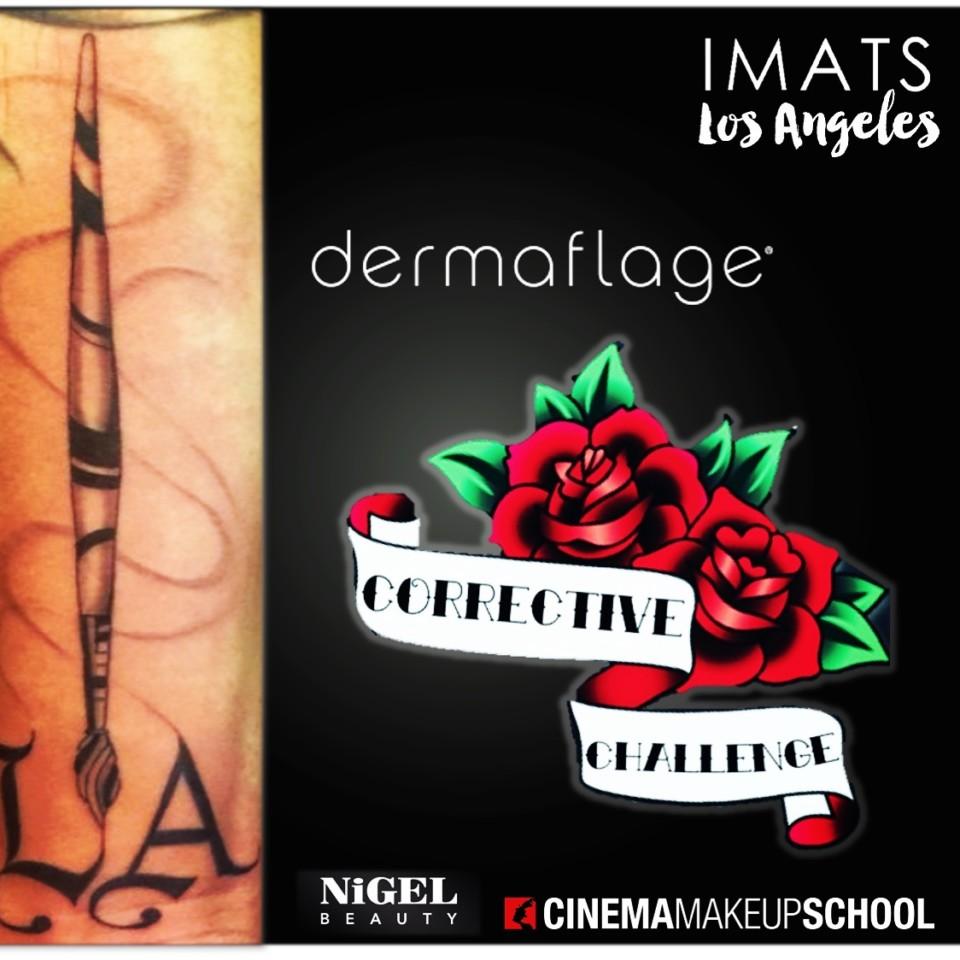 Dermaflage Corrective Challenge @ IMATS LA 2018